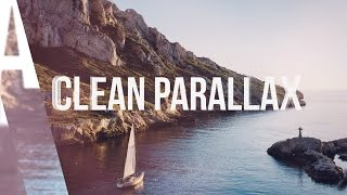 FREE After Effects CS5 Template - Clean Parallax Slideshow