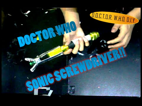 Sonic Screwdriver D.I.Y.!   Creative World!