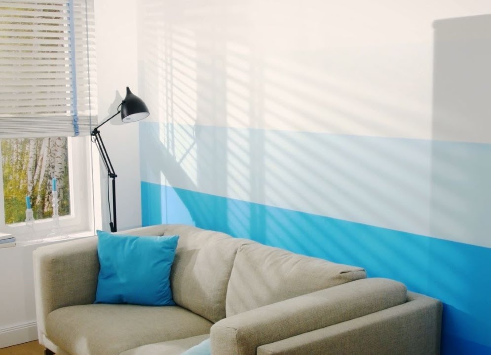 How To Do A Gradient Wall Paint