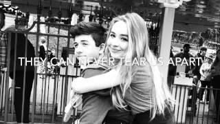 Two Young Hearts Lyrics ~ Sabrina Carpenter (#Brabrina Slideshow)