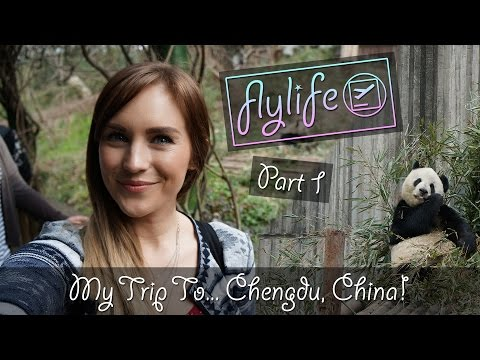 My Trip To... Chengdu, China! | Part 1 | flylifeDanni