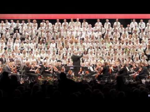 HD Opera  Verdi  Aida  Triumphal March  Lund International Choral Festival 2010  Sweden