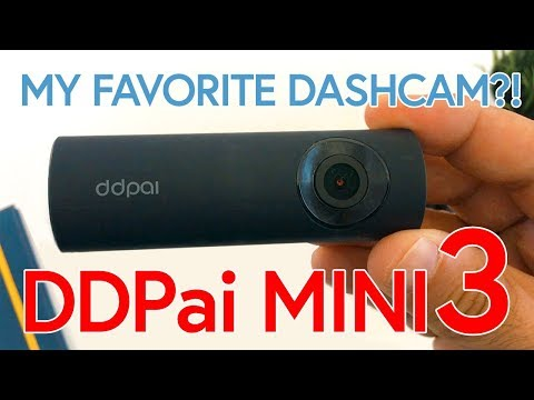 DDPai MINI3 FULL REVIEW - 2560x1600p 32GB Internal Storage + WIFI Dashcam