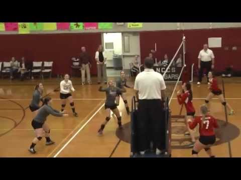 NCCS - Saranac Lake Volleyball C-SF  11-5-15