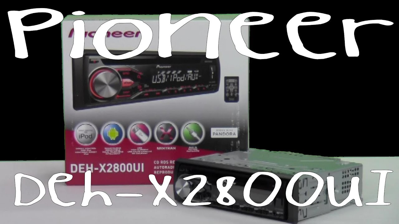 Pandora Pioneer Wiring Harness Diagram Will Be A For 5800 Deh X2800ui Out Of The Box Youtube Rh Com 16 Radio