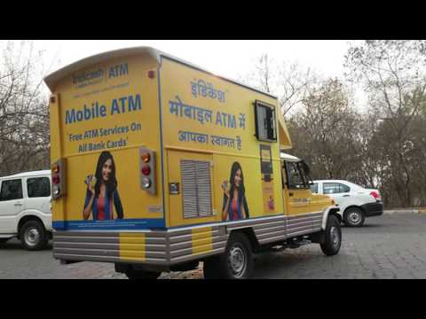 Tata Indicash ATM Van