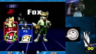 (Project M) 4 Stock Fridays 5 - Winners Finals: ALP (Fox) vs Jamie (Marth)(Project M Singles Tournament., 2016-02-29T10:51:13.000Z)