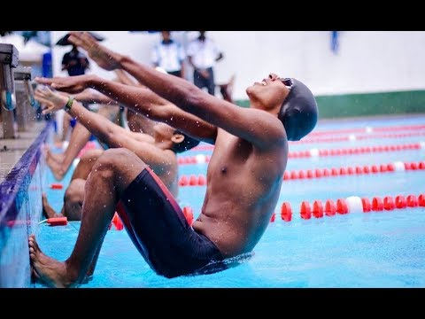 Closing Ceremony of The Central Province Swimming Championships' 17