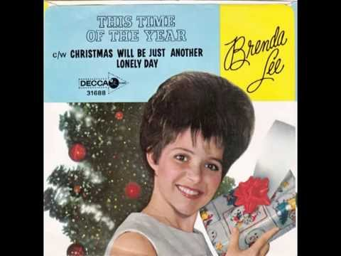 """Brenda Lee – """"This Time Of The Year"""" (Decca) 1964"""
