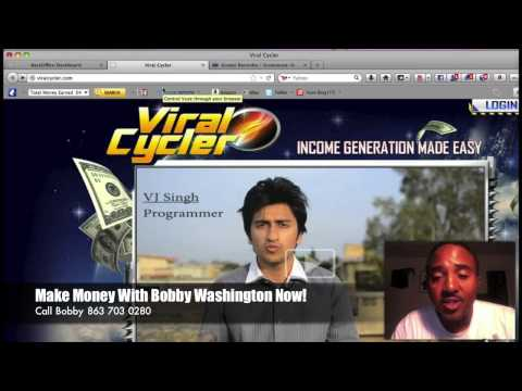 $4,418 in 4 Days Bobby Washington Earned In Viral Cycler Auto Pilot System