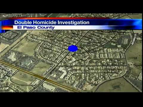 Colorado Springs double homicide investigation