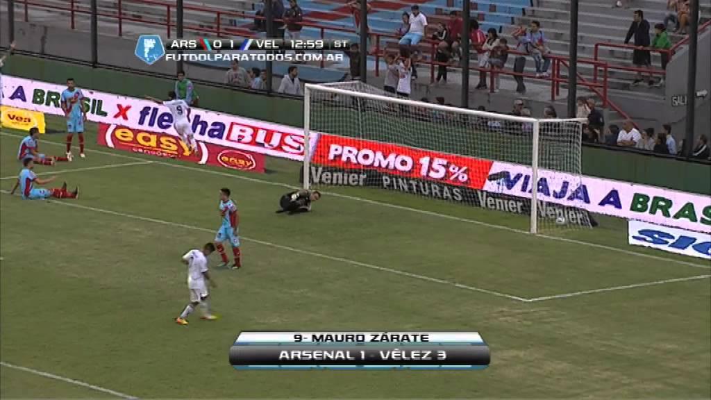 Todos Los Goles. Fecha 2. Torneo Final 2014. Fútbol Para