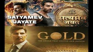 Gold Movie VS Satyameva Jayate Movie relies Date 15/08/2018