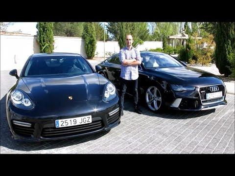 Audi Rs7 Vs Porsche Panamera Turbo Veicolo