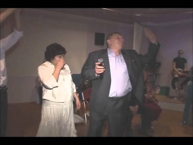 Григорьев П.И. на свадьбе сына