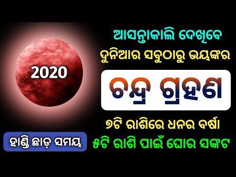 Chandra Grahan 2020 - 10 January 2020 | Lunar Eclipse Horoscope Tips Odisha