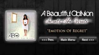 A Beautiful Oblivion - Secrets She Wrote EP - Emotion Of Regret