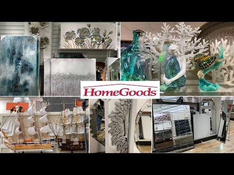 HomeGoods Home Decor * Unique Wall Decor Arts Mirrors | Shop With Me Fall 2019
