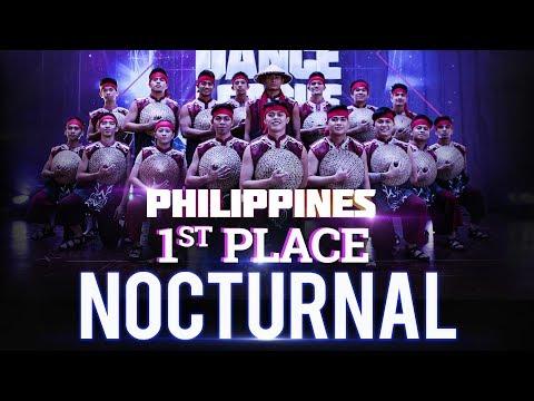 WORLD DANCE LEAGUE   PHILIPPINES FINALS   NOCTURNAL DANCE COMPANY   1ST PLACE
