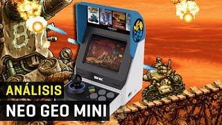 Análisis y Unboxing Neo Geo Mini con 40 juegos