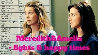 Meredith&Amelia - fights & happy times