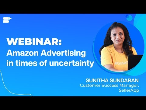 Amazon Advertising in times of Uncertainty - PPC 2020 - Amazon Seller Webinar Covid19