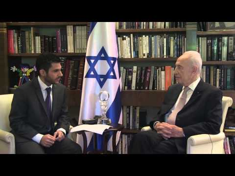 President Shimon Peres Interview with Jewish News (2013)