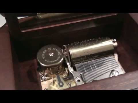 Reuge music box 36 notes  The phantom of the opera