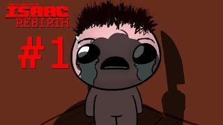 - НЕВИННОЕ ДИТЯ Прохождение The Binding of Isaac Rebirth 1