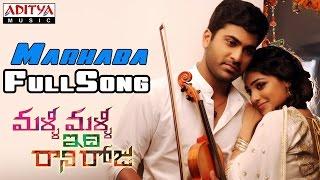 Malli Malli Idi Rani Roju Movie || Marhaba Full Song || Sharvanand, Nithya Menon