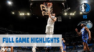 Luka Doncic (33 points) Highlights vs. Orlando Magic