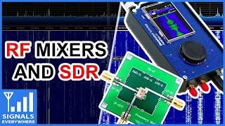 HackRF and RF Mixer = DIY RTL SDR Up-converter | Basics of the Passive ADE Mixer