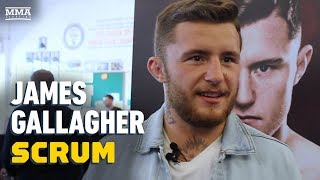 James Gallagher Believes Fighting Him In Dublin Is 'Bigger' Than 135-Pound Title Shot