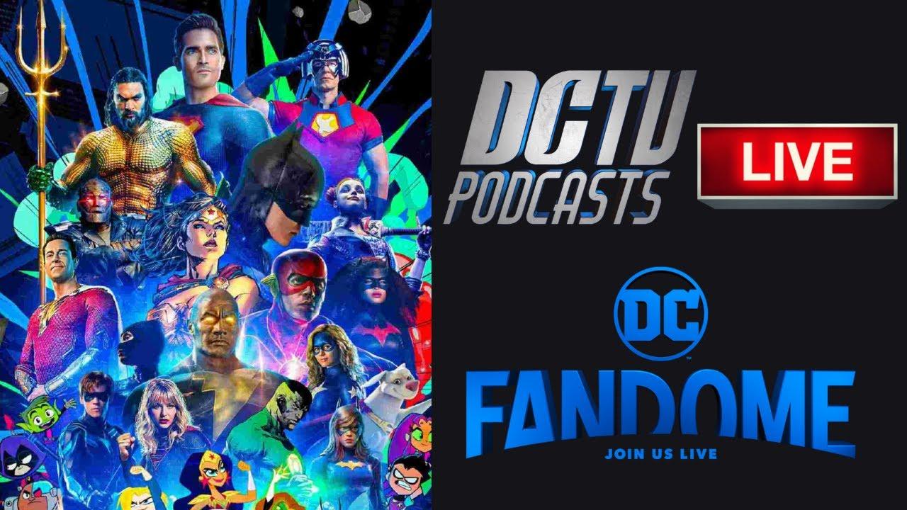 DC TV Podcasts Live: DC FanDome 2021!