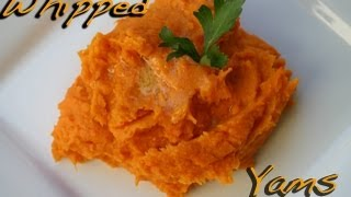 Mom's Yam's Puff - Whipped Sweet Potatoes - A Great Thanksgiving Holiday Side Dish By Rockin Robin
