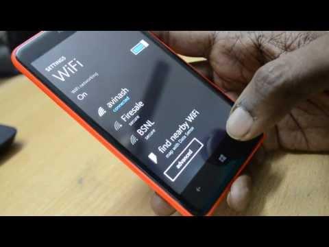 Fix Nokia Lumia WiFi Password issue, enter password again