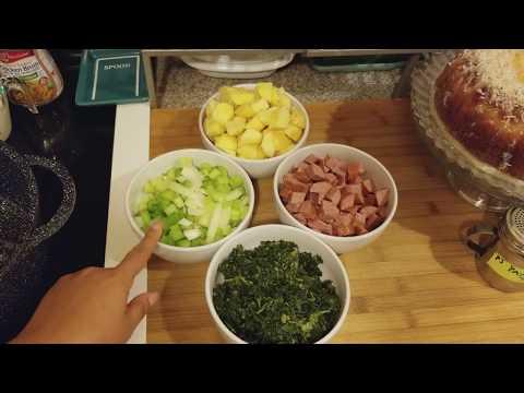 Turkey Sausage, Potato & Spinach Soup Recipe
