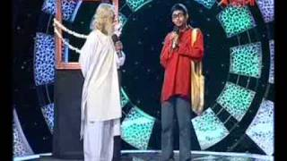 Mir's Enjoy Guru: Dipanshu as a budding poet and Shayan as the one and only Rabindranath Tagore