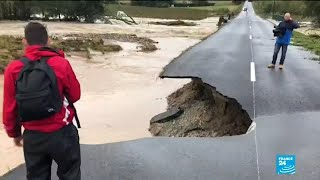 Flash floods kill at least 13 in Southwestern France