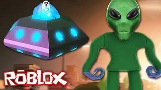 *NIEUW* ALIEN & UFO IN ROBLOX JAILBREAK!