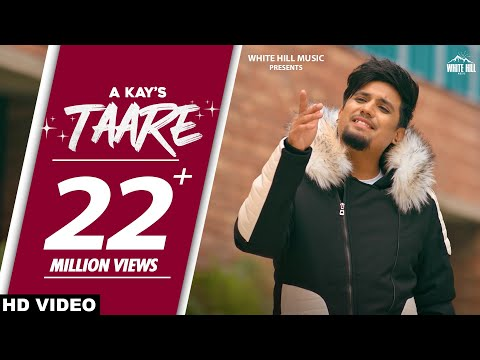 A KAY : Taare (Official Video) Rashalika Sabharwal | Pendu Boyz | New Punjabi Songs 2021 | Sad Songs