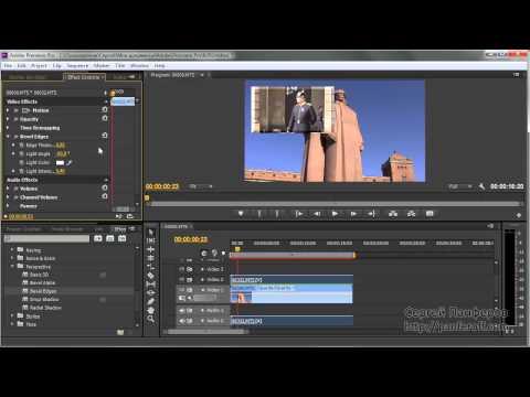 Adobe Premiere Pro - Эффекты для картинки в картинке