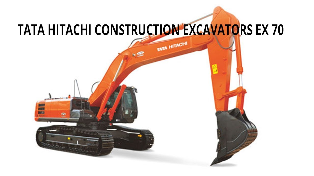 Tata Hitachi Construction Excavators EX 70 Price 2018 | Full Specifications  and review