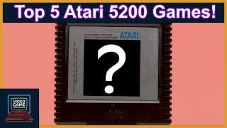 Our Top 5 Atąri 5200 Games! - Video Game Retrospective