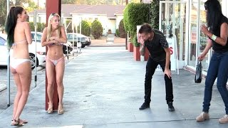 Blowing Girls Clothes Off Prank!! thumbnail