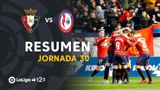 Resumen de CA Osasuna vs CF Rayo Majadahonda (3-0)