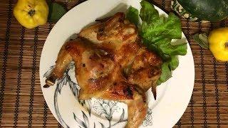 Цыплята корнишоны запечённые в духовке