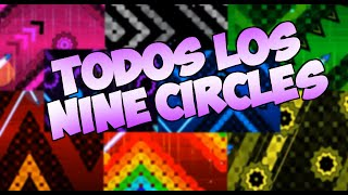 TODOS LOS NINE CIRCLES EN UN NIVEL - Geometry Dash [2.0]