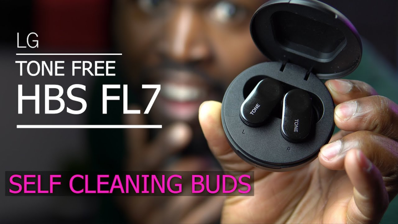 Lg Tone Free Hbs Fl7 Detailed Review Lg Is On To Something With These Self Cleaning Earbuds Youtube