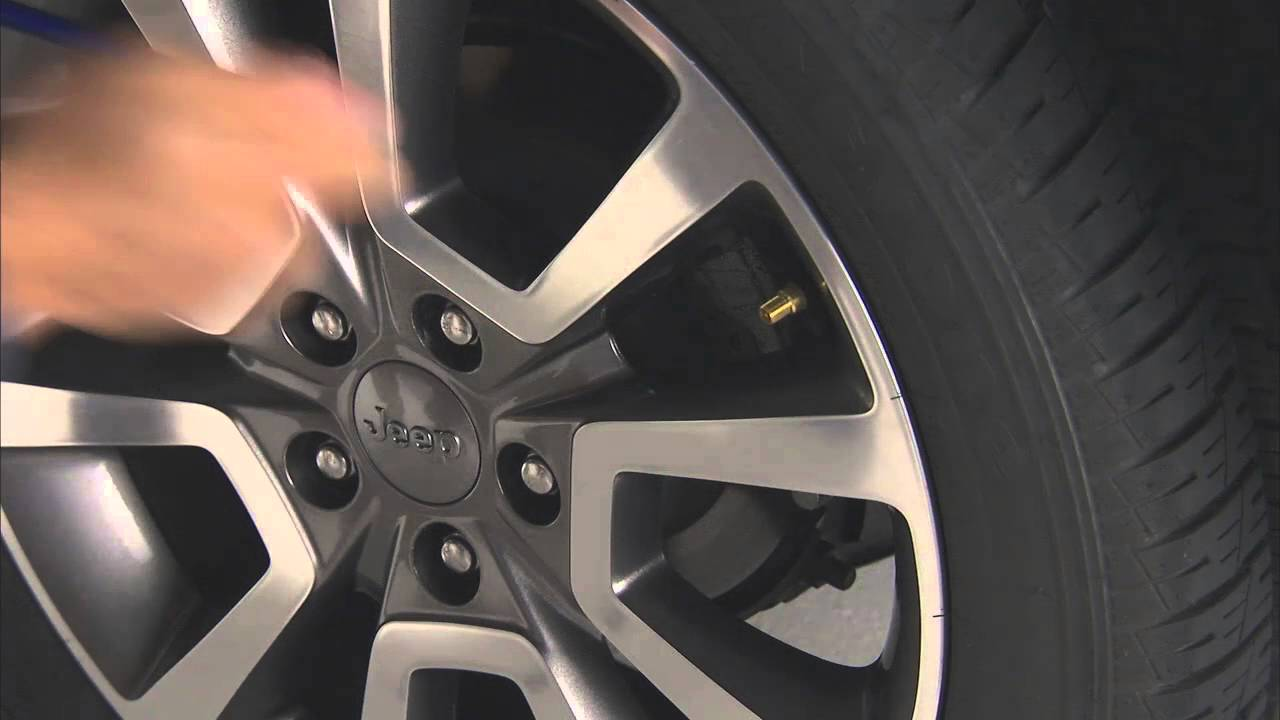 2016 Jeep Compass | Tire Pressure Monitoring System